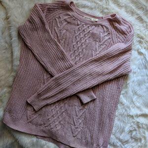 Faded Glory pink sweater size XXL